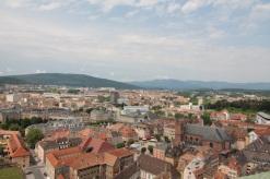 View towards the Ballons D'Alsace
